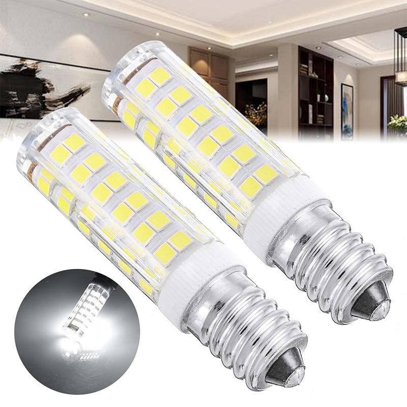 Светодиодный светильник E14 7 Вт, 1/2 шт., сменная лампа-кукуруза для кухонной вытяжки, дымохода, холодильника