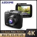 Видеорегистратор AZDOME GS63H с двумя объективами, 4K, UHD, Wi-Fi