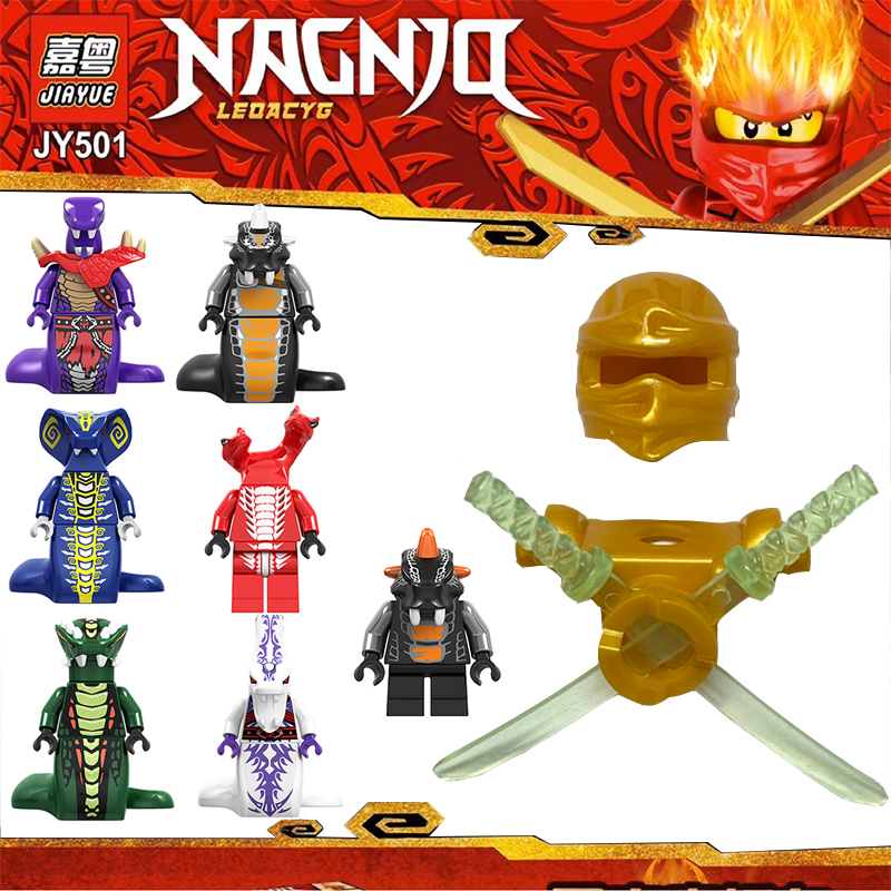 Without Mini Figures Ninja Weapons Action  Accessorie Building Blocks Kids Toy Gift Compatible Ninjagoed  Toys For Children