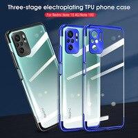 Für Xiaomi Redmi Hinweis 10 Pro Fall Überzug TPU Funda Telefon Fall Für Xiaomi Redmi Hinweis 10S 10 Pro max 5G Transparent Shell