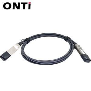Image 3 - ONTi 40G QSFP + para QSFP + DAC Cabo 0.5M 1M 2M 3M 5M 7M Direct Attach Passiva Twinax Cabo de Cobre para Huawei Cisco Dell Zimbro