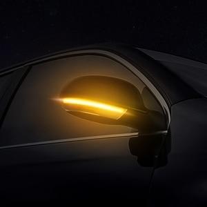 Image 2 - 2x Side Mirror indicator Dynamic Blinker LED Turn Signal Light For VW Passat B6 GOLF 5 Jetta MK5 Passat B5.5 GTI V Sharan