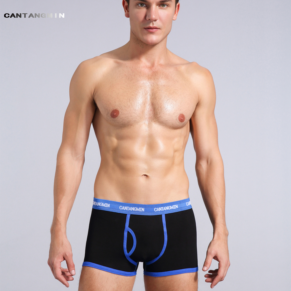 CANTANGMIN Male Panties Cotton Boxers Comfortable Breathable Men's Panties Underwear Man