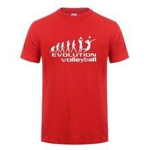 Evolution-Camiseta deportiva de voleibol para hombre, Camiseta ajustada de hip hop, ropa informal de moda para fitness, camiseta de equipo