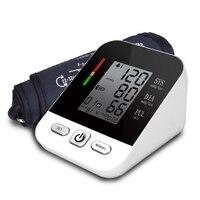 Professional Automatic Digital Arm Blood Pressure Monitor Tonometer Usb Rechargeable Sphygmomanometer tensiometro pulsometer