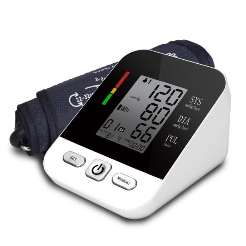Professional Automatic Digital Arm Blood Pressure Monitor Tonometer Usb Rechargeable Sphygmomanometer Tensiometro Pulsometer
