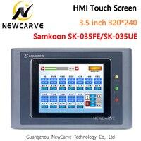 Samkoon SK-035FE SK-035UE HMI Сенсорный экран 3,5 дюймов 320*240 интерфейс человек-машина дисплей Newcarve