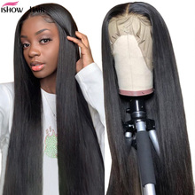 Ishow Straight Lace Front Wig Remy 360 Lace Frontal Wig 150%