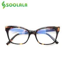 Soolala синий светильник блокировка очки для чтения «кошачий
