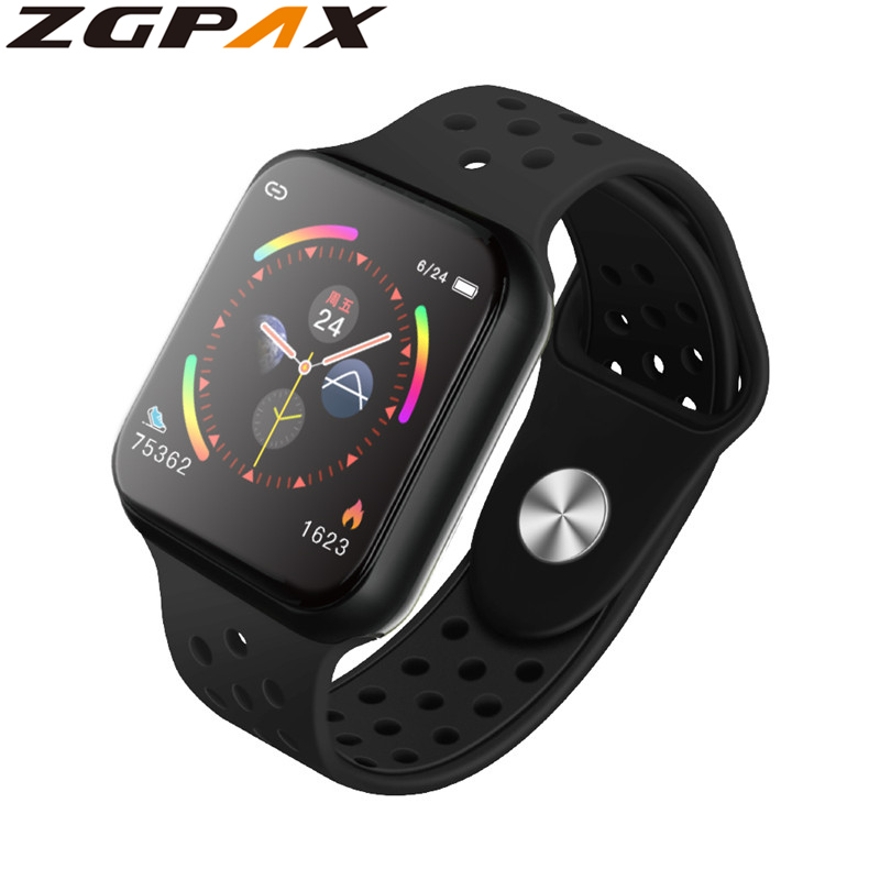 ZGPAX Factory price F9 smart watch bluetooth Full Touch Heart Rate Monitor Blood Pressure sport smartwatch PK F8|Smart Watches| |  - AliExpress