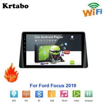 Car radio Android multimedia player For Ford For Focus 2019 Car touch screen GPS Navigation Support Carplay Bluetooth