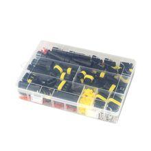 352Pcs/box Waterproof Connectors 1/2/3/4 Pin Car Electrical Wire Connector Plug 23GB 26pcs box electrical wire connector 1 2 3 4 pins ip68 waterproof car wire cable plug connectors 12a crimp terminal car fuse kits