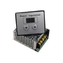 AC 220V napięcia SCR regulator mocy ściemniacz 4000W silnik elektryczny prędkość temperatura kontroler dla piec elektryczny bojler