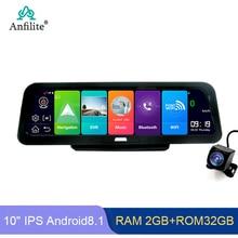 Espejo 10″ con sistema ADAS Android Cámara grabación FHD 1080P