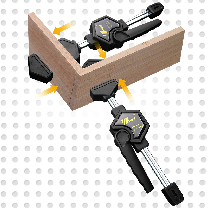 Woodworking Desktop Clip Adjustable Frame Woodworking Fast Fixed Clip Clamp Fixture For Wood Working Benches Uxiliary Tool