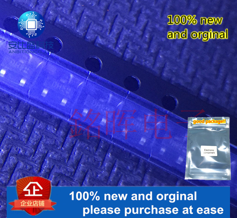 10pcs 100% New And Orginal BCW68H Silk-screen DHs SOT-23 PNP SILICON PLANAR MEDIUM POWER TRANSISTOR In Stock