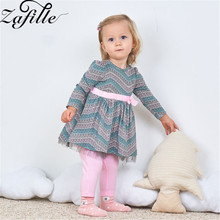 ZAFILLE Long Sleeve Baby Girl Clothes Newborn Infant Girls Clothing Printed 2Pcs Top+Pants Outfits Sets Toddler Cotton Suit 2020 zafille girls clothing 2pcs lace top leopard skirt baby girl clothes long sleeve toddler outfits sets kids clothes baby clothing