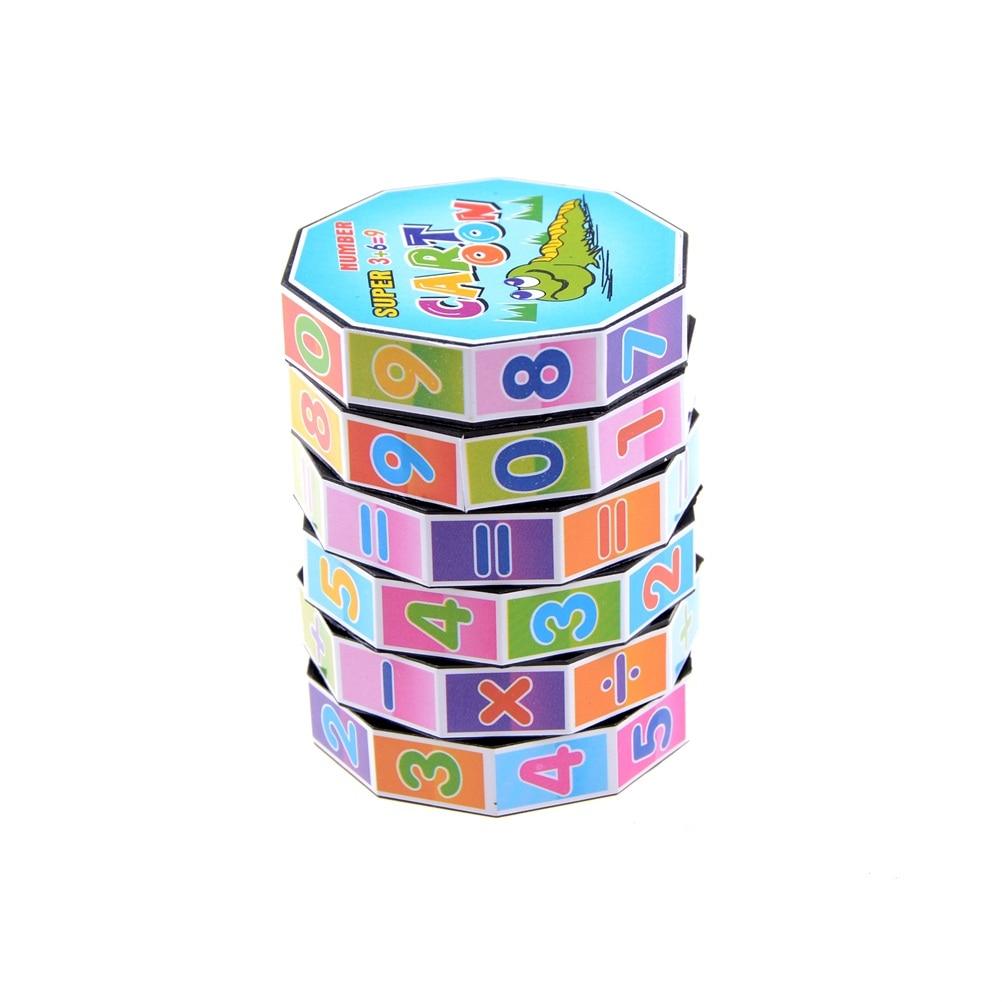 1 Pcs Mathematics Digital Cube The Magic Cube Of Children's Educational