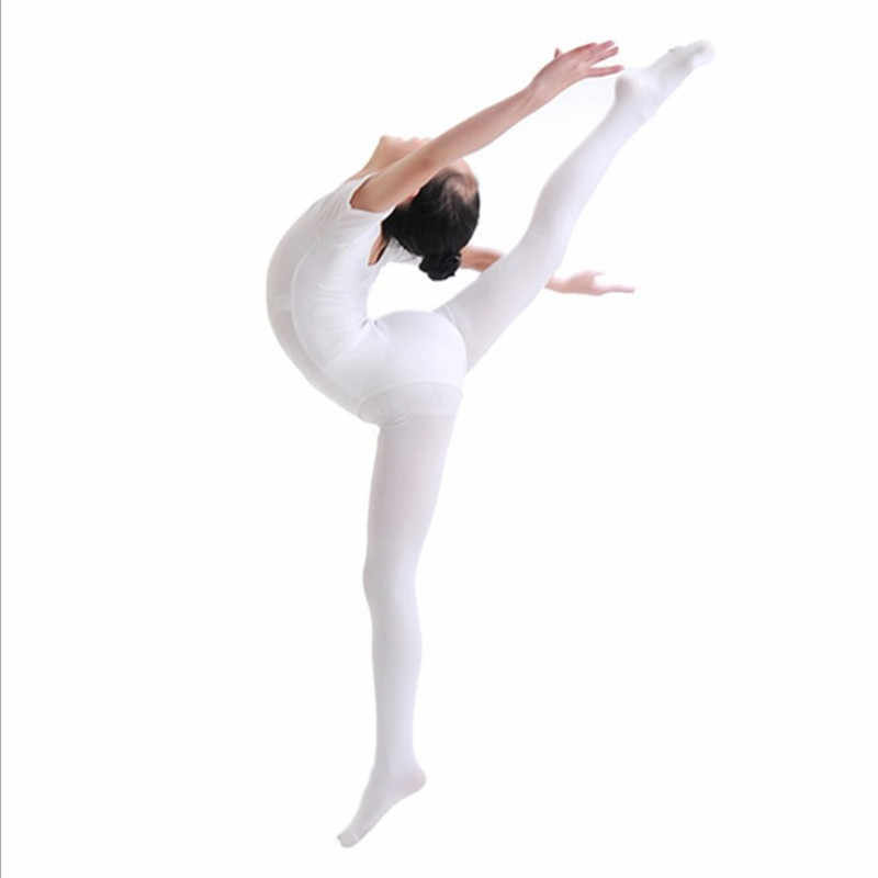 Children Ballet Dance Tights Dance Socks 80D High Elastic Velvet Ballet Dance Performance Practise Evening Dance Pants Socks
