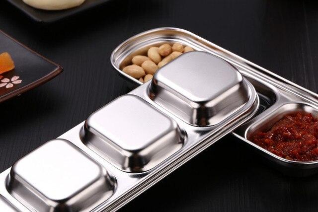 Купить дисковая кухонная тарелка из нержавеющей стали для барбекю суши картинки цена