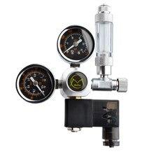Diy aquário co2 regulador kit solenóide magnético válvula de retenção do tanque de peixes acessórios sistema controle co2 conjunto gerador reator