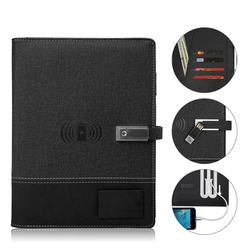 A5 Smart Reusable Bloc de notas borrable A5 Paper power bank y memoria flash USB para la escuela Oficina suministros App Connection