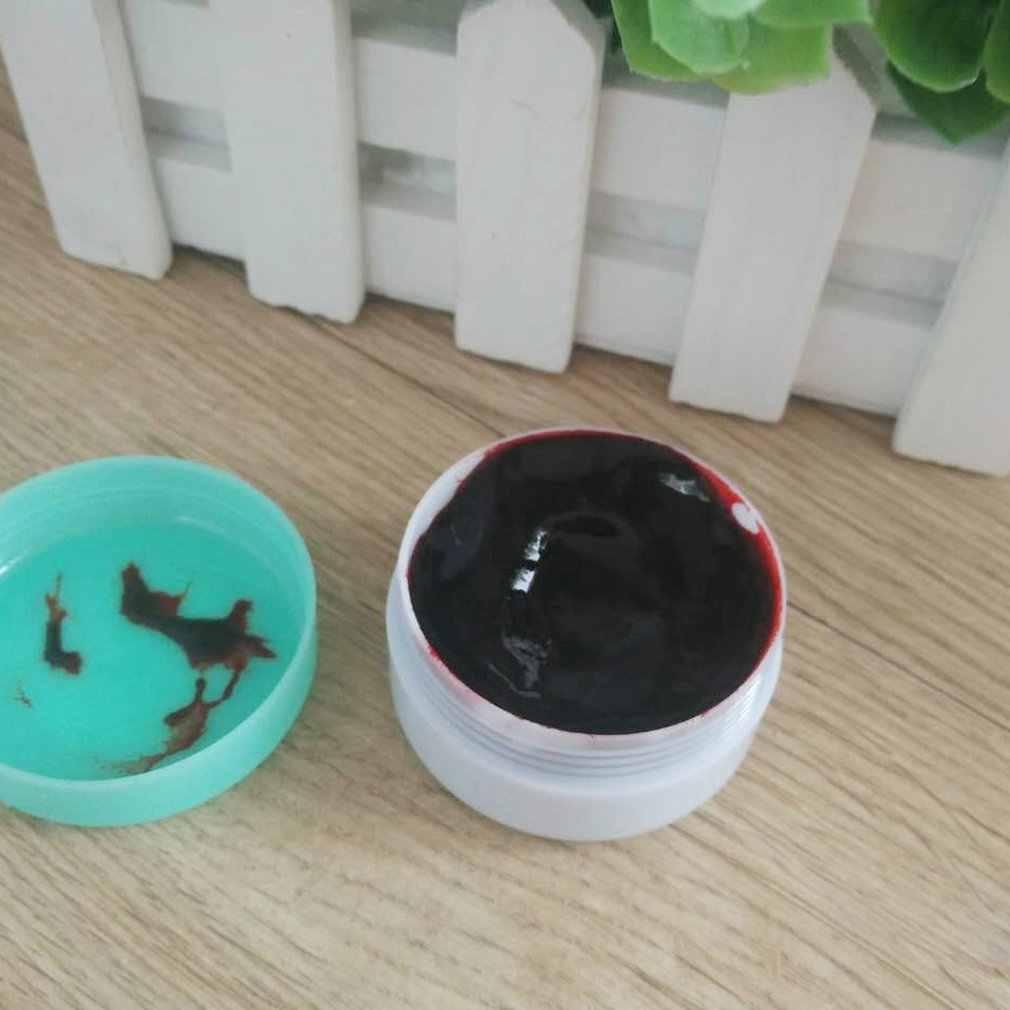 15g artificial realístico sangre falsa Plasma crema vampiro accesorios para maquillaje Halloween disfraz aterrador fiesta Favor Accesorios