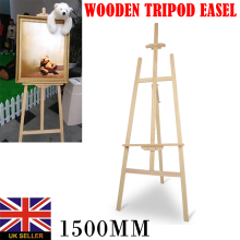 150cm Wood Table Easel For Artist Easel Painting Craft Wooden Stand For Party Decoration Art Supplies Display Shelf Holder