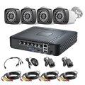 FUERS 4CH 8CH 5в1 AHD DVR система видеонаблюдения 4.0MP 1520 P Водонепроницаемая камера видео система скрытого наблюдения HDMI с 1 ТБ 2 ТБ HDD DIY Набор