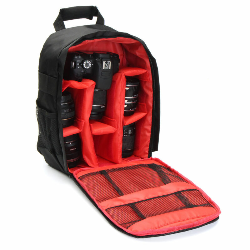 DSLR Camera Bag Backpack Video Photo Bags For Camera Compact Camera Backpack 3 Colors