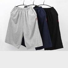 pijama hombre 100%cotton men's sleepwear pants half-length pajamas men