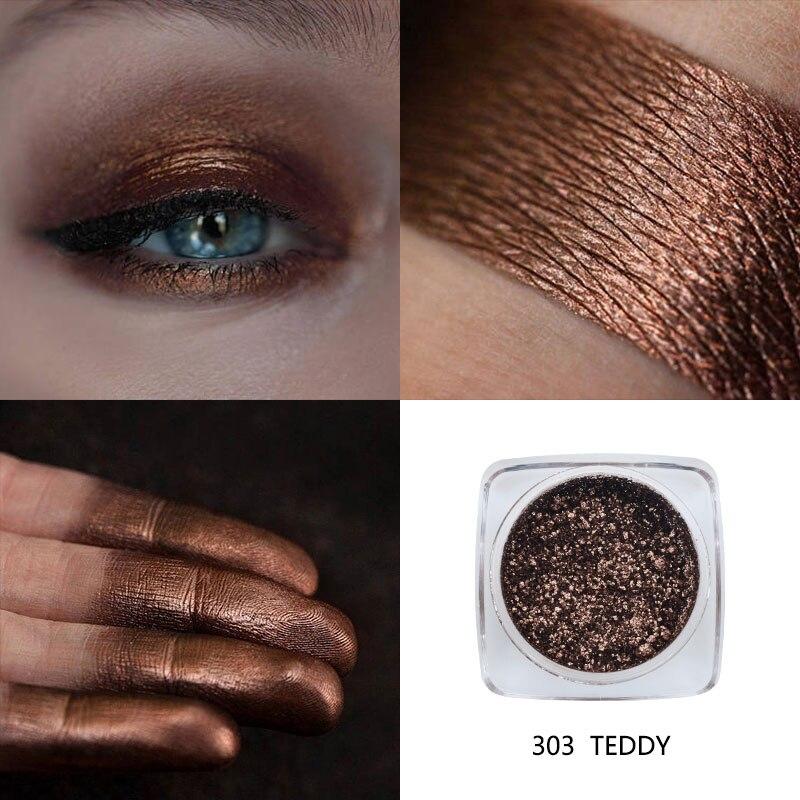 PHOERA палитра теней для век с блестками, мерцающие монохромные пигменты, долговечные тени для век, макияж, профессиональные 12 цветов, TSLM1