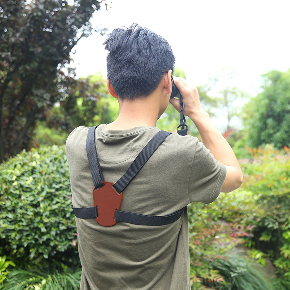1pc Shoulder Harness X-Belt Flexible Strap Adjustable Band on Binoculars for Camera Accessories
