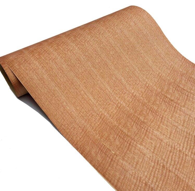 L:2.5Meters Width:60cm Red Shadow Wood Bark Veneer (Back Kraft Paper)