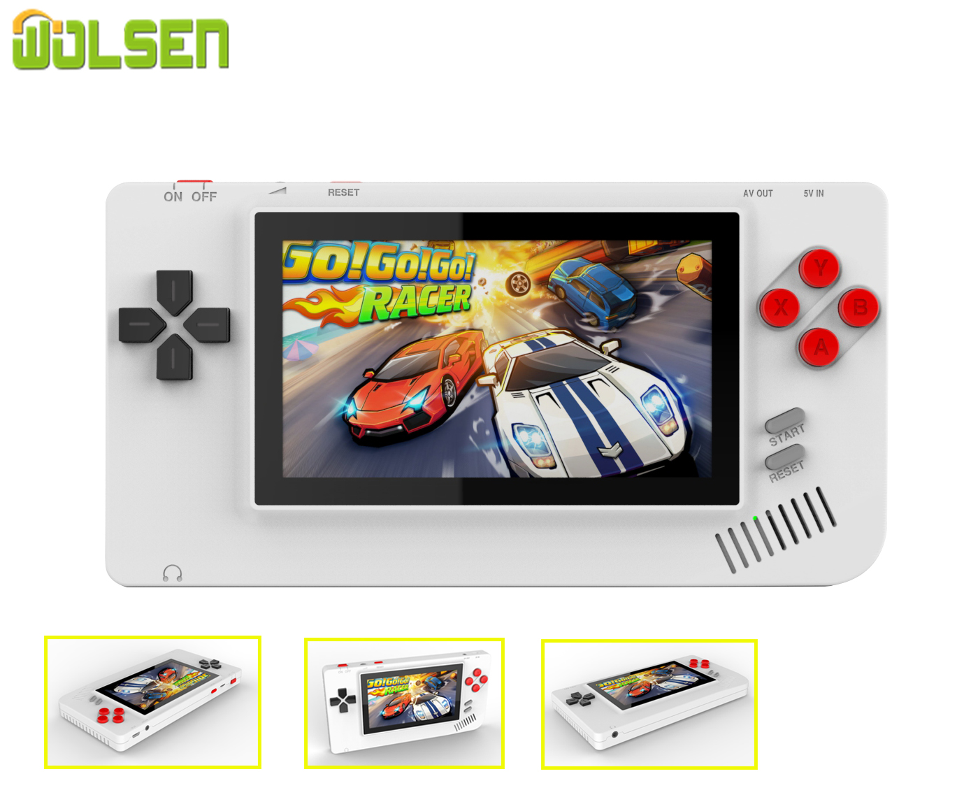 2020 NEW 8 Bit Portable Handheld Game Console 4.3 inch Pocket Max Video Game Built in 228 Funny Games image