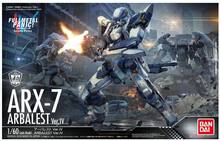 Original anime full metal panic IV Invisible Victory ARX-7 Arbalest 1/60 escala modelo de montaje de juguete(China)