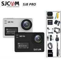 SJCAM SJ8 Pro kamera akcji 4K 60FPS pilot wifi kamera na kask Chipset Ambarella 4K @ 60FPS ultra hd sportów ekstremalnych aparat dv