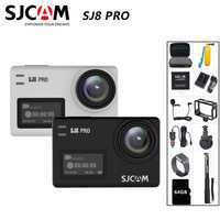 SJCAM SJ8 Pro Action Camera 4K 60FPS WiFi Remote Helmet Camera Ambarella Chipset 4K@60FPS Ultra HD Extreme Sports DV Camera