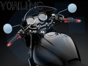 Image 2 - 7/8 22mm עבור Gilera Nexus 300 500 נקסוס 500 כל שנים אופנוע ידיות נגד החלקה קטנוע ידית מסתיים כידון בר יד כידון
