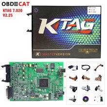 2020 KTAG V7.020 SW V2.53 באינטרנט מאסטר גרסה קס 5.017 V2.47 100% אין אסימון כוונון עבור מכונית משאית ECU תכנות כלים