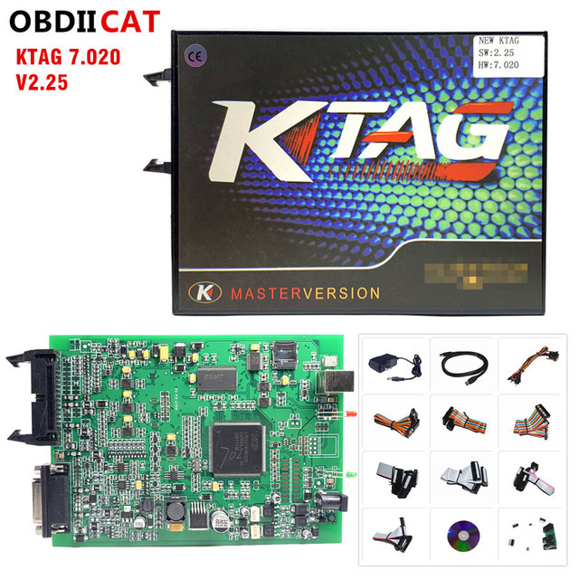 2020 Newest KTAG V7.020 SW V2.53 Online Master Version kess 5.017 V2.47 100% No Token Tuning For Car Truck ECU Programming Tools