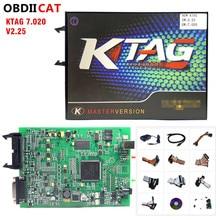 2020 i più nuovi KTAG V7.020 SW V2.53 On Line Master Versione kess 5.017 V2.47 100% No Token Tuning Per Auto Camion ECU strumenti di programmazione
