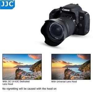 Image 5 - Capot dobjectif pour Canon EOS 90D 80D 70D 77D, Canon EF S 18 55mm f/3.5 5.6 is STM, Canon EF S 18 55mm f/4 5.6 is STM remplace EW 63C
