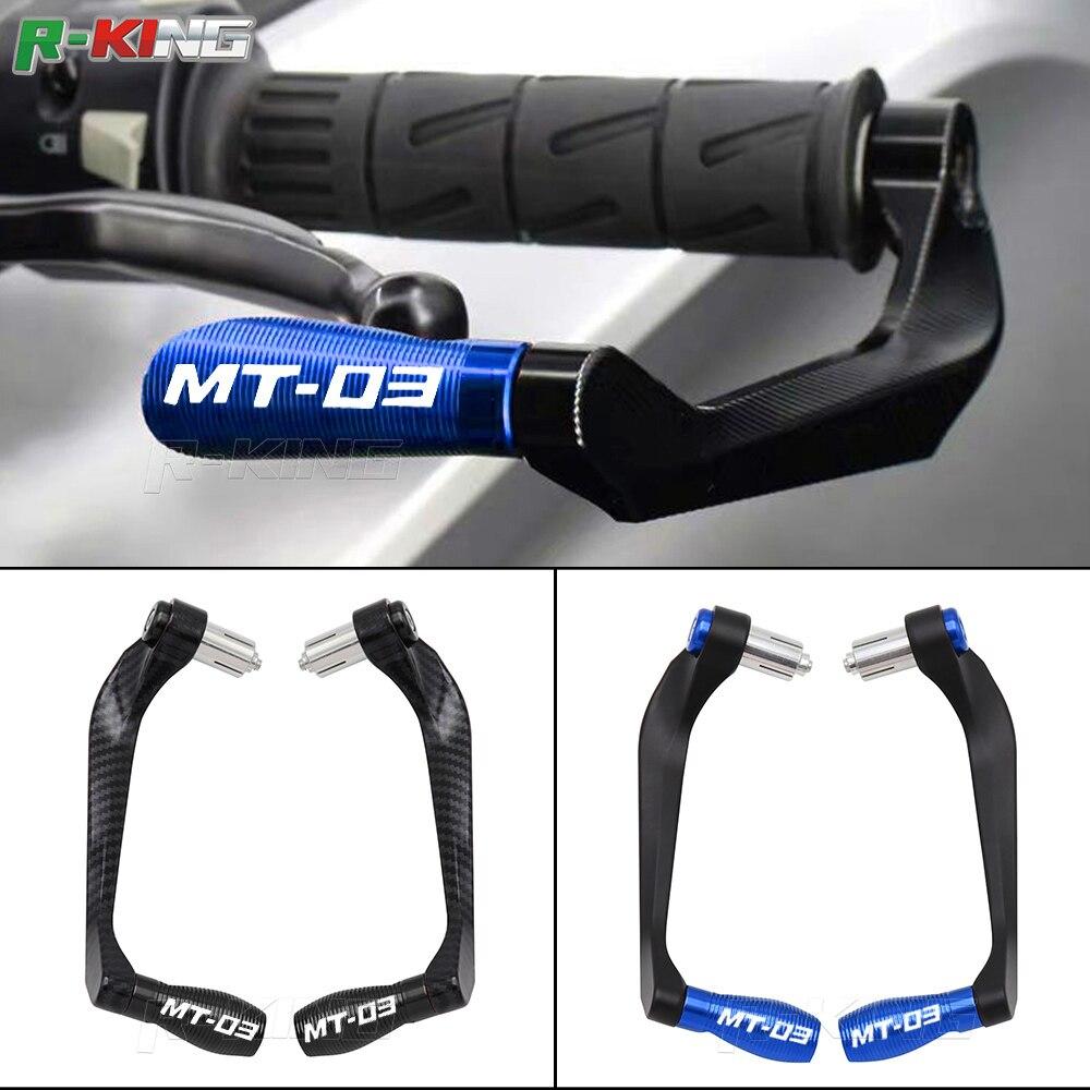 Для мотоцикла YAMAHA MT-03 MT03 MT 03 универсальные ручки 7/8 дюйма 22 мм рычаги тормозной муфты защитная накладка на руль