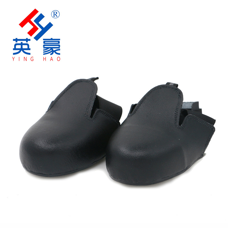 Hero Manufacturers Wholesale Safety Shoes Split Cowhide Steel Head Smashing Shoe Cover Toe Holder Shoe Cover Labor Safety Shoe C