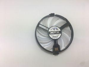 Image 5 - Yeni FDC10U12S9 C PC soğutucu Fan için değiştirin XFX AMD Radeon R7 370 RX 470 480 570 580 RX460 RX 460 grafik kartı GPU soğutma fanı