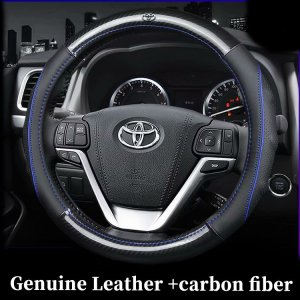 Car Genuine Leather Carbon Fib