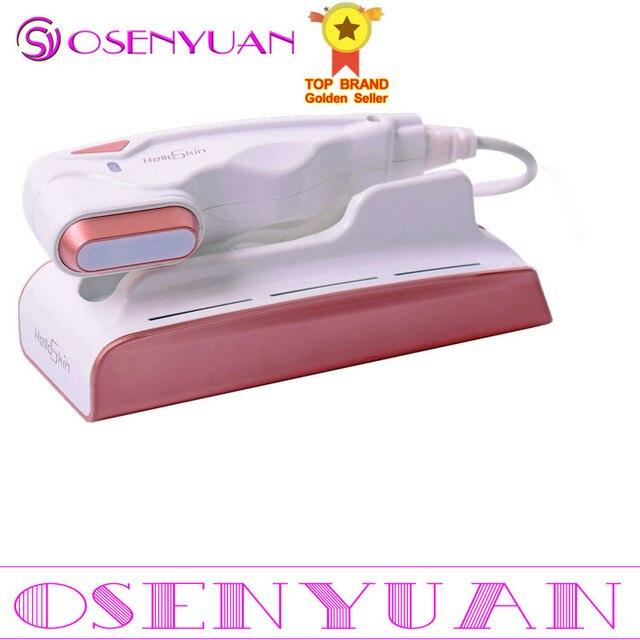 Melhor cuidados com a pele spa beleza v cura mini hifu alta intensidade focalizada levantamento facial máquina rf face lift led anti rugas