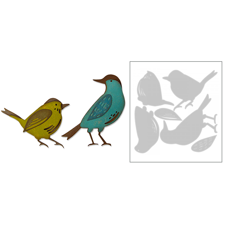 2020 New Hot Bird Metal Cutting Dies Stencils Spring And Scrapbooking For Animal Foil 3D Die Cut Crafts Supplies Sets No Stamp