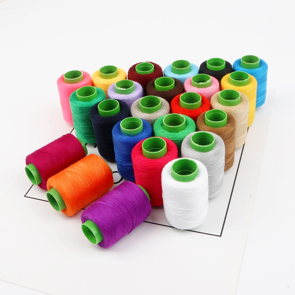 3500 Yards High Speed Length Sewing Thread 40S/2 Threads Polyester Thread Multicolor Spool Sewing Accessories